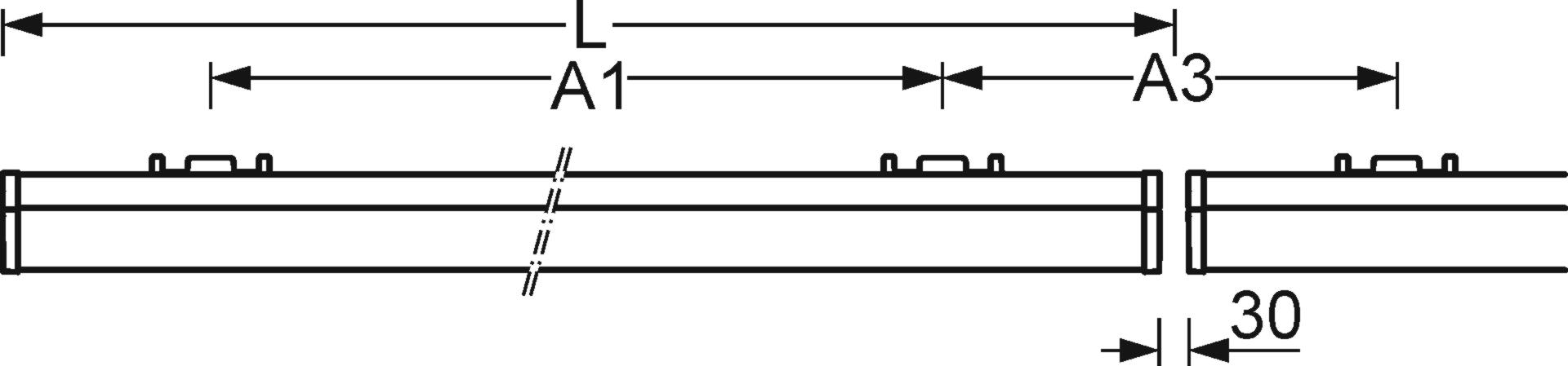 Längsschnitt   (L)