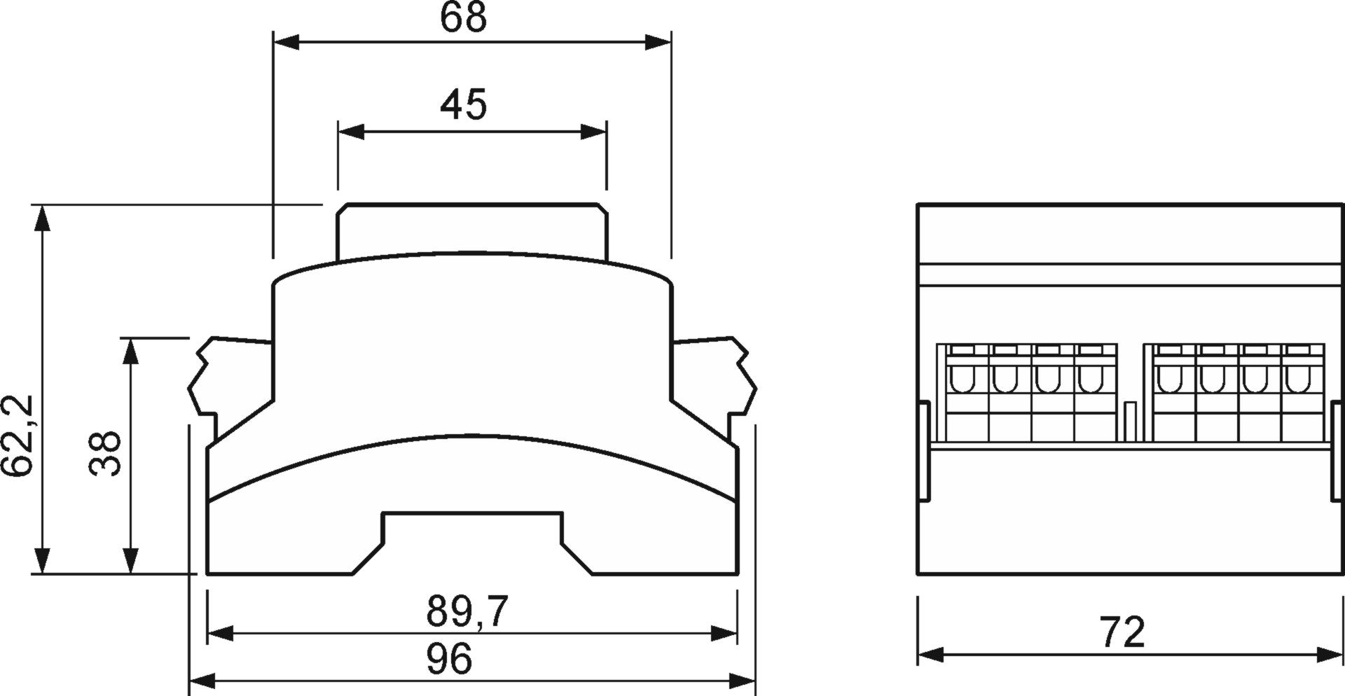 Cross-section/longitudinal section | (Q+L/LL)