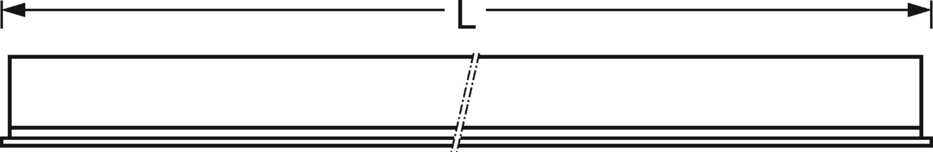 Przekrój wzdłużny | (L)